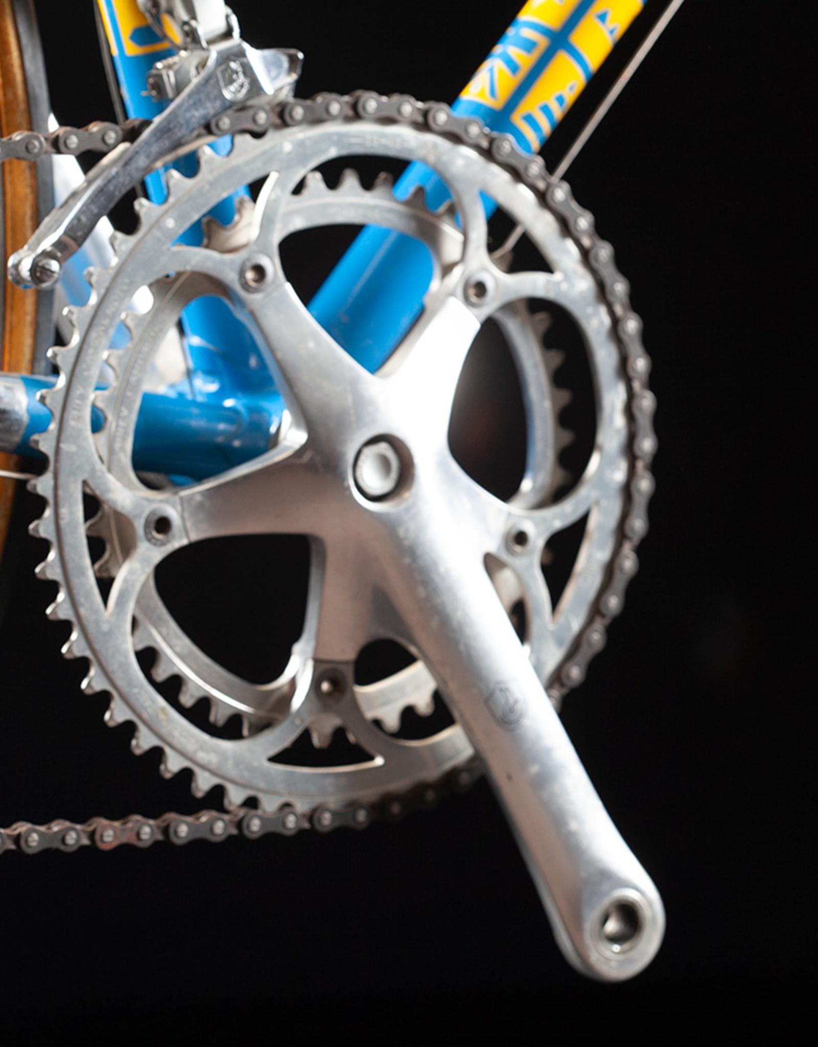 Serrotta/Campagnolo USA neutral service vintage steel Road Bike size 52cm 1989