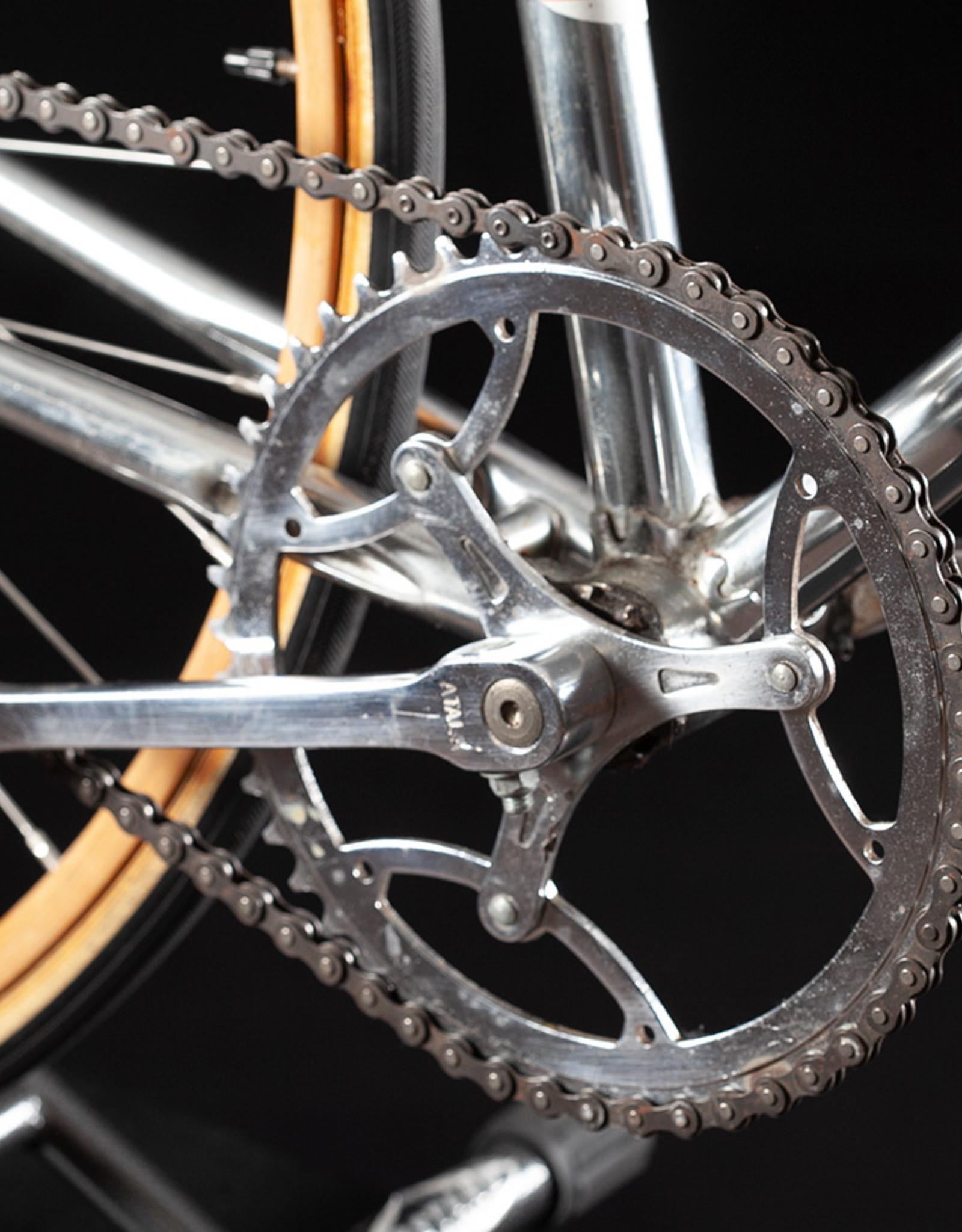 Rare Vintage 60's Atala track Bike with wooden rims rare Cinelli stem