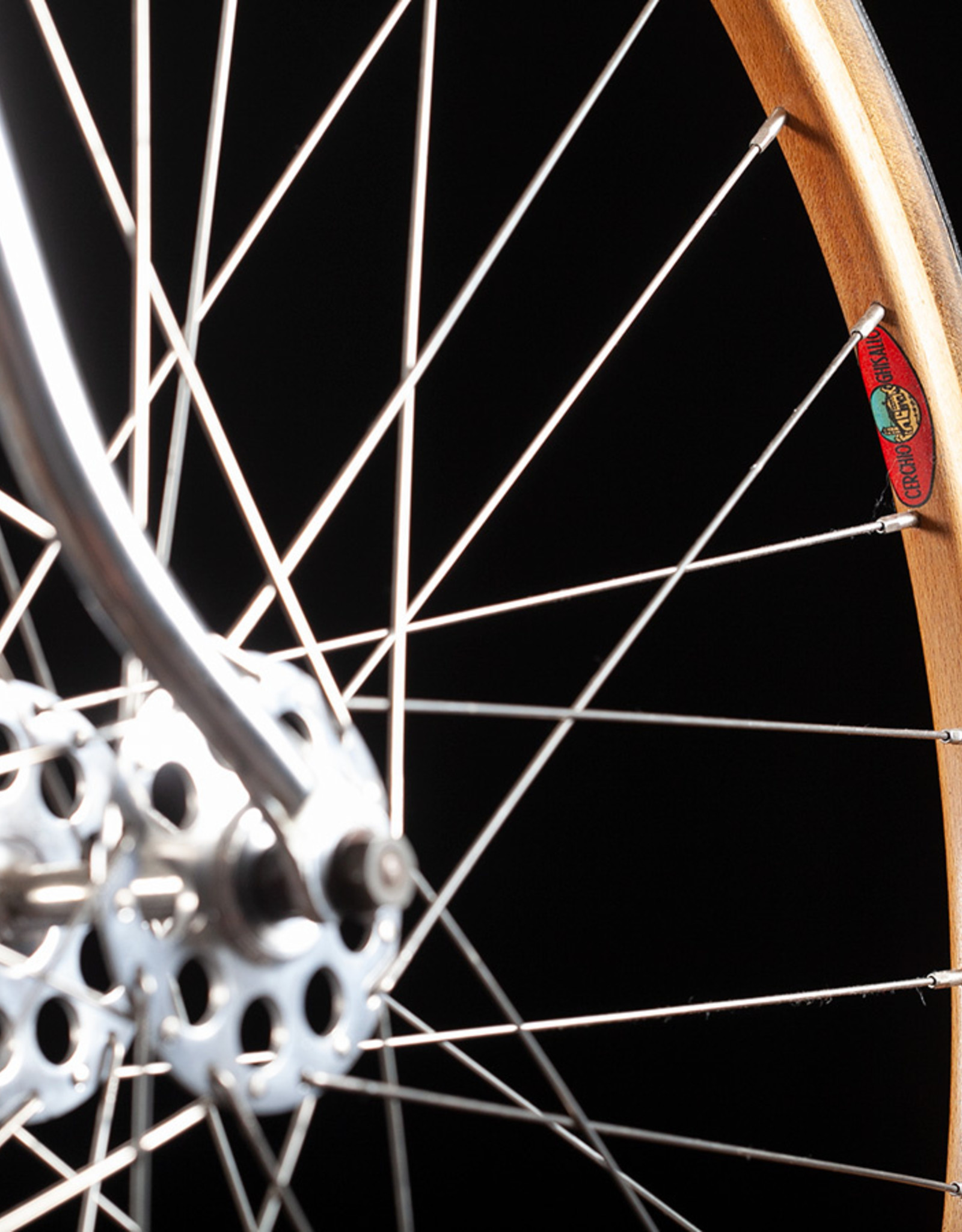 Rare Vintage 60's Atala track Bike with wooden rims rare Cinelli stem
