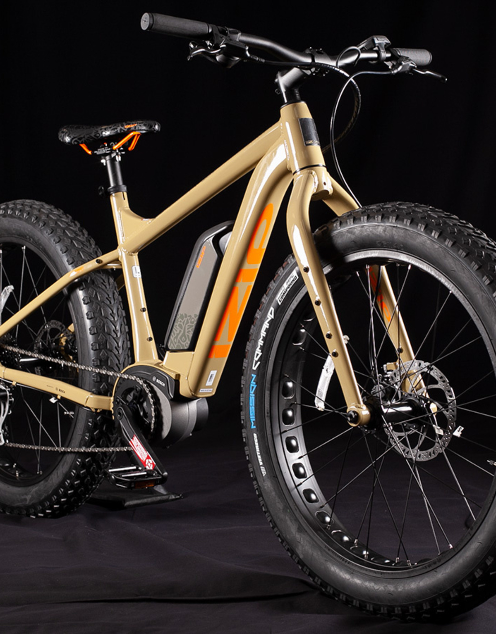 2020 IZIP Sumo Electric Fat Bike E-Bike, SUPER LOW MILES, Size Medium
