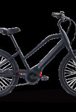 "2021 Izip Zuma Luxe Step-Thru 17"" Electric Bicycle, E-bike , Black"