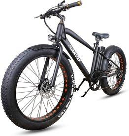 "Nakto Fat Tire Cruiser 26"" Electric Bicycle, 300w E-Bike, black"