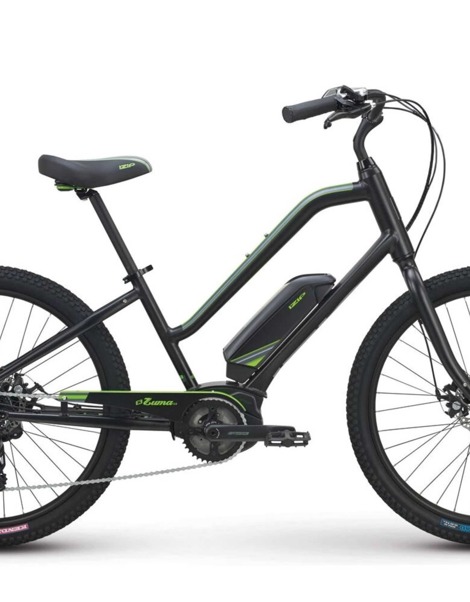 2021 Izip Zuma 2.0 Step-Thru  Electric Bicycle, E-bike , Black