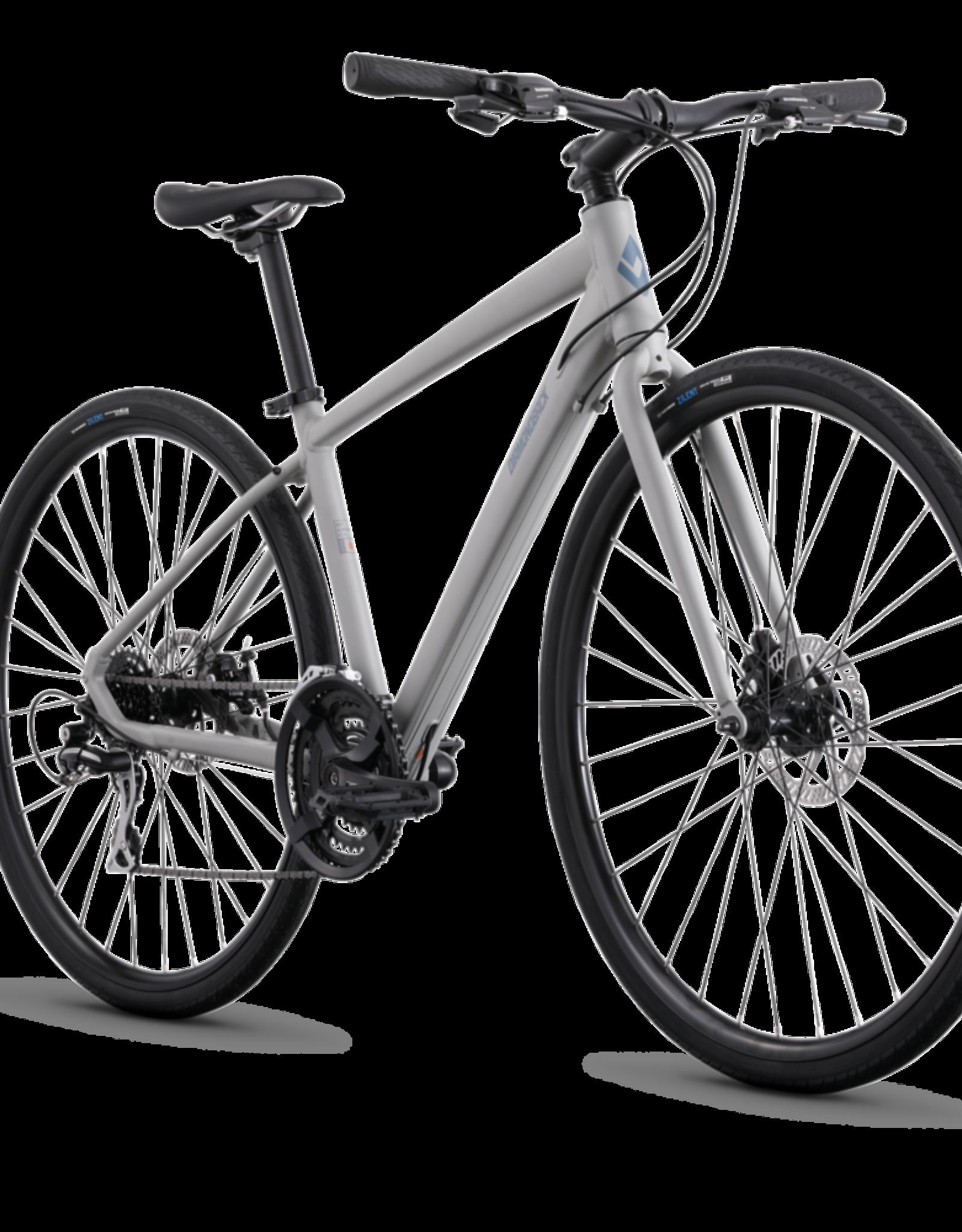 2021 Metric 2 Commuter Bicycle, Mechanical Brakes, MEDIUM