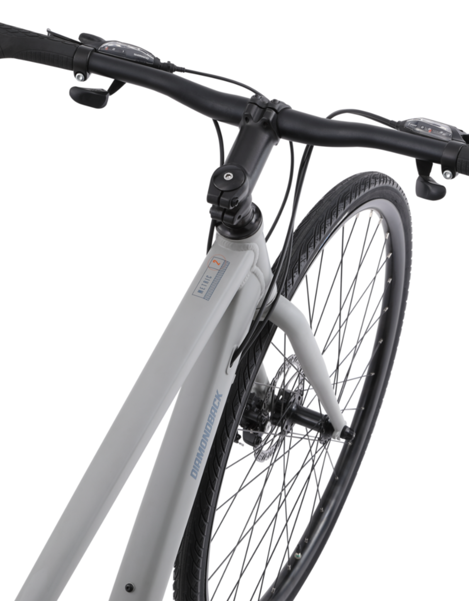 2021 Metric 2 Commuter Bicycle, Mechanical Brakes, SMALL