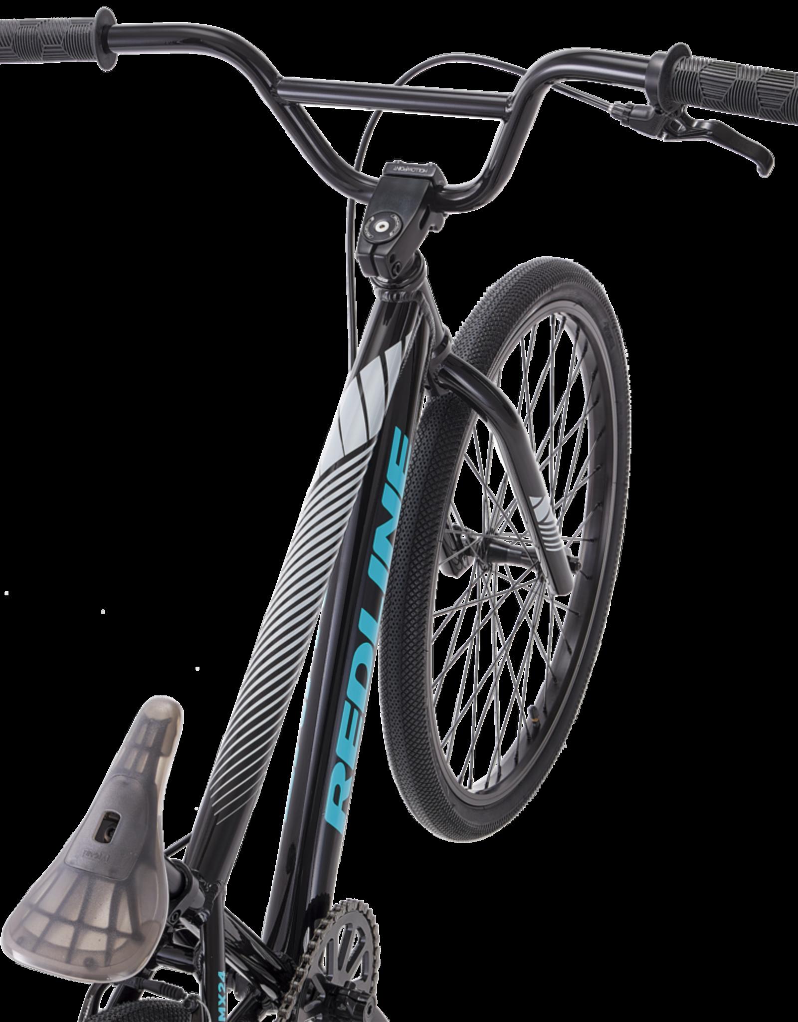 "2021 Redline MX 24"" Bicycle, Gloss Black"