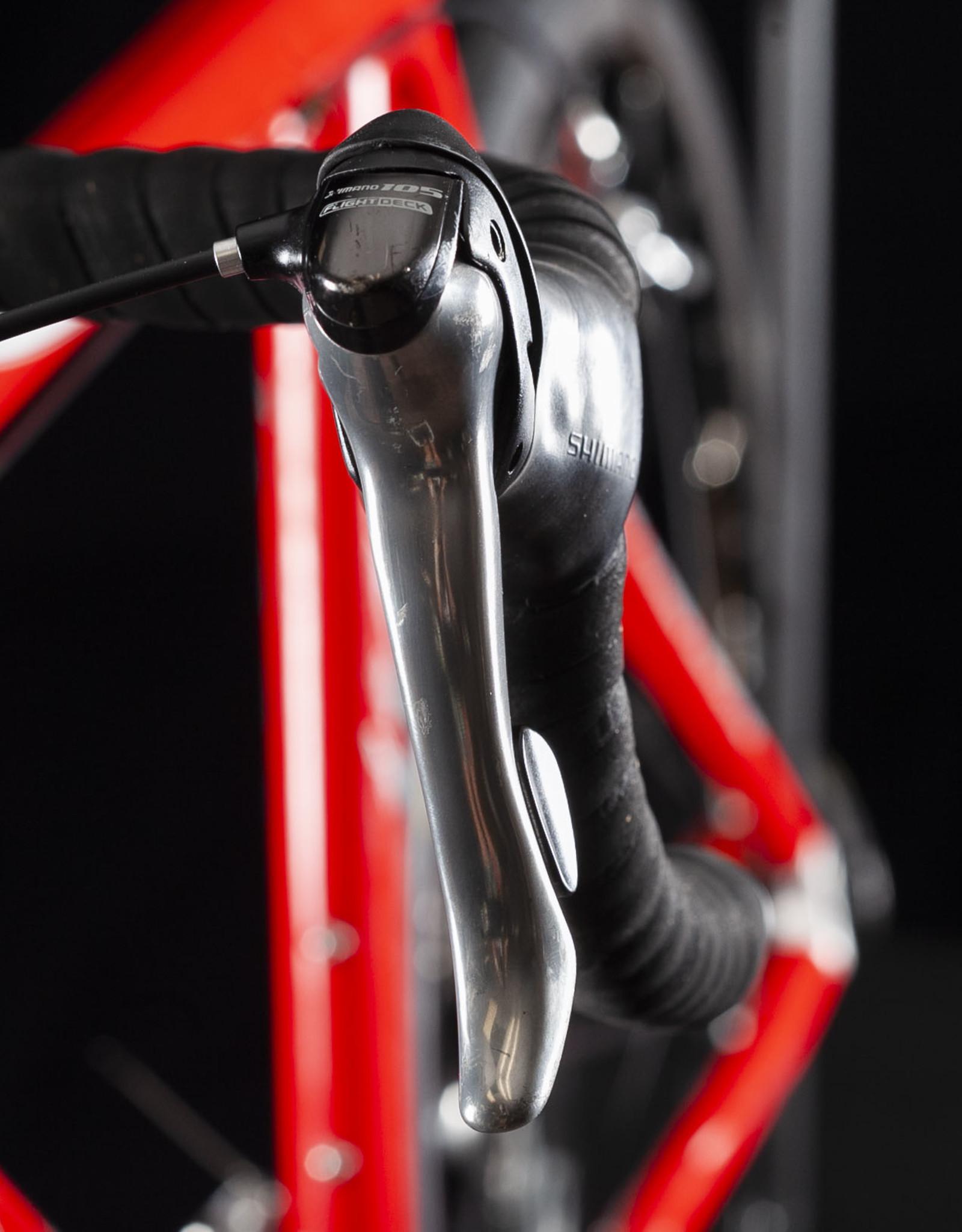 Isaac Pascal light Carbon Road Bike with Mavic Wheels, Size 56cm Nice!