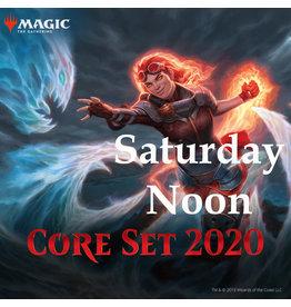 Magic M20 Prerelease #3 Sat Noon