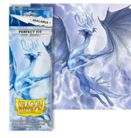 Dragon Shields Dragon Shield 100ct Perfect Fit Sealable Clear