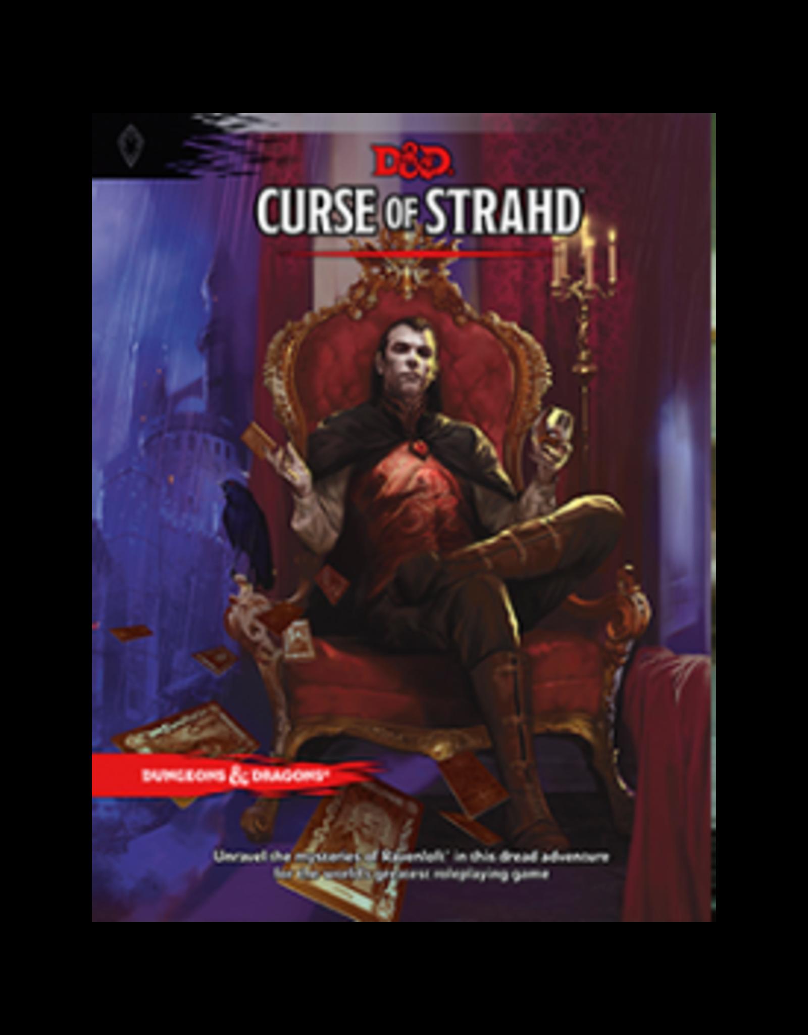 DnD D&D Curse of Strahd 5th