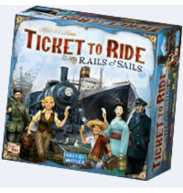 T2R Ticket To Ride Rails and Sails