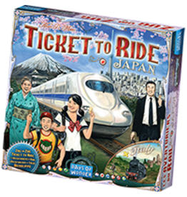 Ticket to Ride Map 7 Japan and Italy