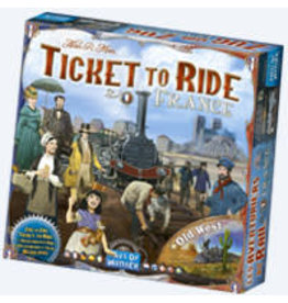 T2R Ticket To Ride Map 6 France and Old West