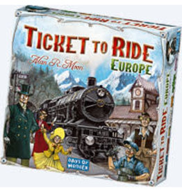 T2R Ticket To Ride Europe