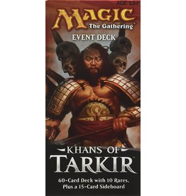 Magic Khans of Tarkir Event Deck Conquering Hordes