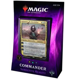 Magic Commander 2018 Subjective Reality