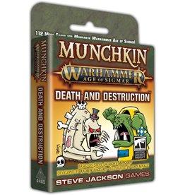 Munchkin Munchkin Warhammer Age of Sigmar Expansion Death and Destruction
