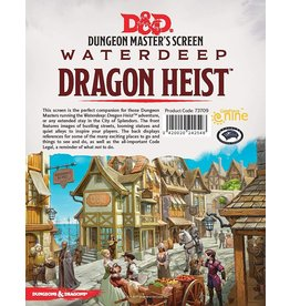 DnD D&D 5th Dragon Heist DM Screen