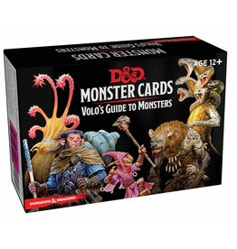 DnD D&D Monster Cards Volos Guide to Monsters