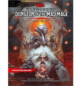 DnD D&D Waterdeep Mad Mage Map Pack