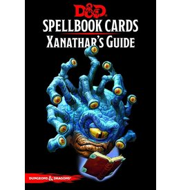 D&D Spellbook Cards Xanathars Deck