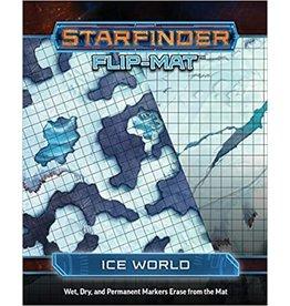 Starfinder Starfinder Flip Mat Ice World