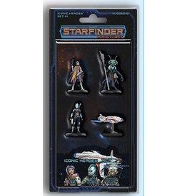 Starfinder Starfinder Miniatures Iconic Heroes Set 1