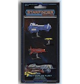 Starfinder Starfinder Miniatures Pact Worlds Fleet Set 1