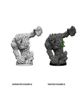 WizKids Pathfinder Unpainted W5 Medium Earth Elemental