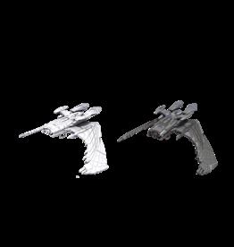 WizKids Star Trek Unpainted Reman Warbird