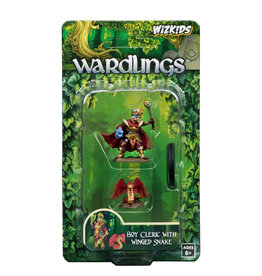 WizKids WizKids Wardlings Boy Cleric & Winged Snake