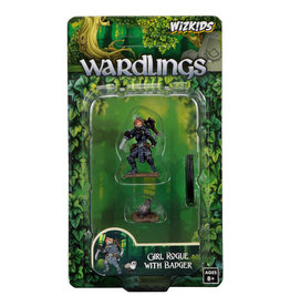 WizKids WizKids Wardlings Girl Rogue & Badger
