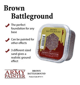 Army Painter Basing Material Brown Battleground
