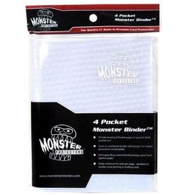 Monster Monster (4 pkt) Holofoil White - White Pages