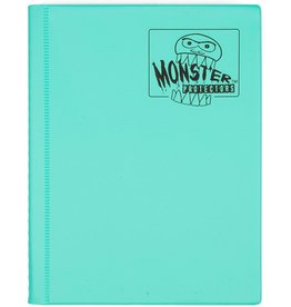Monster Monster (4 pkt) Matte Teal