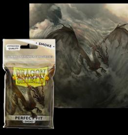 Dragon Shields Dragon Shield (100) Perfect Fit Smoke