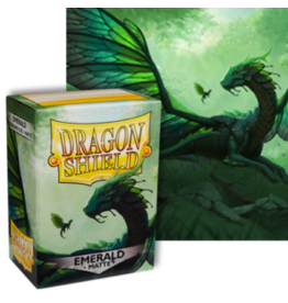 Dragon Shields Dragon Shield Matte 100 Emerald