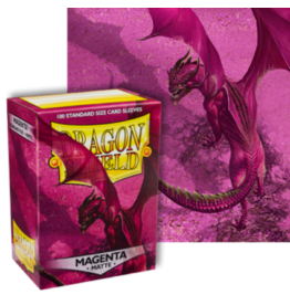 Dragon Shields Dragon Shield Matte 100 Magenta