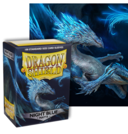 Dragon Shields Dragon Shield Matte 100 Night Blue