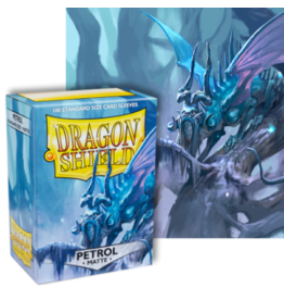 Dragon Shields Dragon Shield Matte 100 Petrol