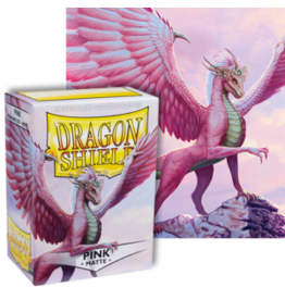 Dragon Shields Dragon Shield Matte 100 Pink