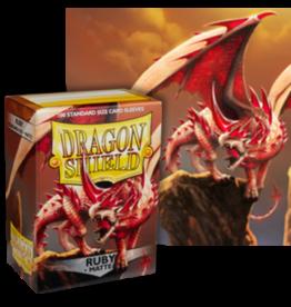 Dragon Shields Dragon Shield Matte 100 Ruby