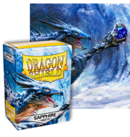 Dragon Shields Dragon Shield Matte 100 Sapphire