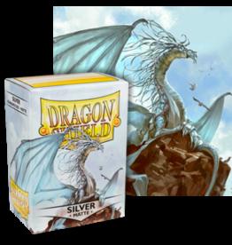 Dragon Shields Dragon Shield Matte 100 Silver
