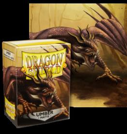 Dragon Shields Dragon Shield Matte 100 Umber