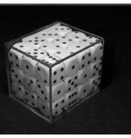 Chessex Opaque 12mm Set White/Black (36)