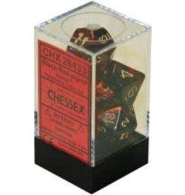 Chessex Gemini 3 Black Red/Gold(7)