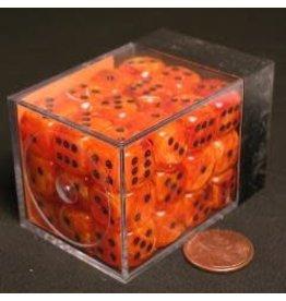 Chessex Vortex 12mm d6 Orange/black (36)
