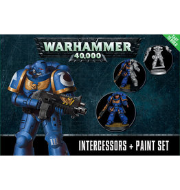 Citadel 40k SM Intercessors & Paint Set
