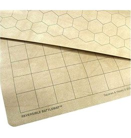 """Chessex Double-Sided Megamat w/ 1.5"""" Squares/Hexes"""